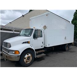 2007 STERLING TON TRUCK, WHITE, VIN # 2FZACGCT37AY09049