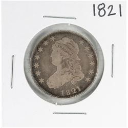1821 Capped Bust Quarter Coin
