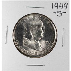 1949-S Franklin Half Dollar Coin