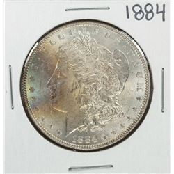 1884 $1 Morgan Silver Dollar Coin Nice Toning