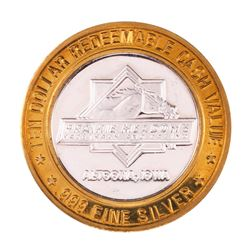 .999 Silver Prairie Meadows Altoona, Iowa $10 Casino Limited Edition Gaming Token