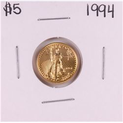 1994 $5 American Gold Eagle Coin