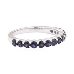 14KT White Gold 1.00 ctw Sapphire Ring