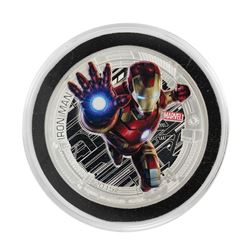 2015 Niue $2 Proof Avengers Age of Ultron Iron Man Silver Coin