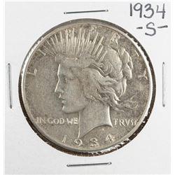 1934-S $1 Morgan Silver Dollar Coin