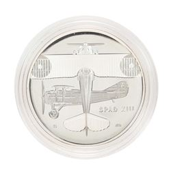 2018-D Proof WWI Centennial Air Service Silver Medal