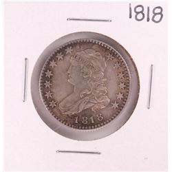 1818 Capped Bust Quarter Silver Coin