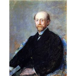 Mary Cassatt - Moise Dreyfus 1879
