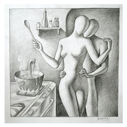 The Spy Who Loved Me by Kostabi Original
