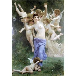 William Bouguereau - Invitation
