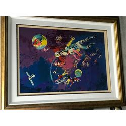 Satellite Football by Leroy Neiman