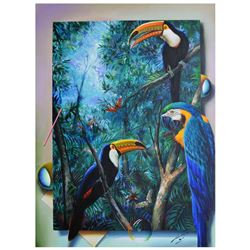 Tucans and Parrots by Ferjo Original
