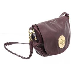 Mulberry Purple Leather Medium Shoulder Bag