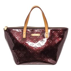 Louis Vuitton Amarante Vernis Leather Bellevue PM Bag