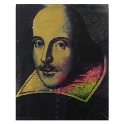 Shakespeare by Steve Kaufman (1960-2010)