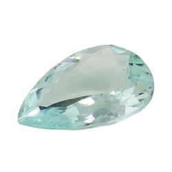 4.57 ct. Natural Pear Cut Aquamarine