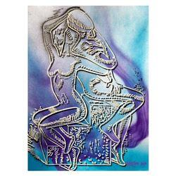 Azure Fantasy by Kostabi Original