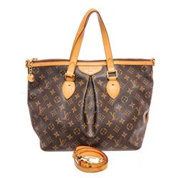 Louis Vuitton Monogram Canvas Leather Palermo PM Bag