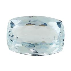 3.50 ct.Natural Rectangle Cushion Cut Aquamarine