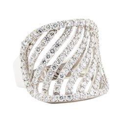 2.21 ctw Diamond Ring - 14KT White Gold