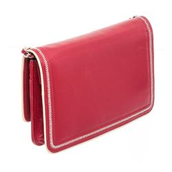 Chanel Red Leather Wallet On Chain WOC