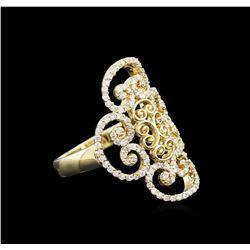 0.68 ctw Diamond Ring - 14KT Yellow Gold