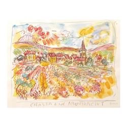 Chassange-Montrachet, Burgundy by Ensrud Original