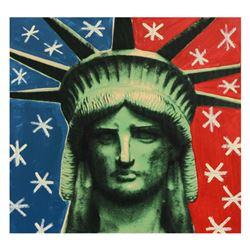 Liberty Head by Steve Kaufman (1960-2010)