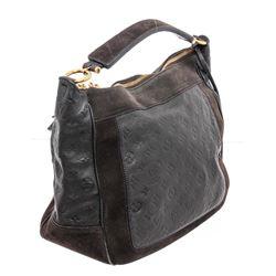 Louis Vuitton Black Monogram Empreinte Leather Audacieuse GM Bag