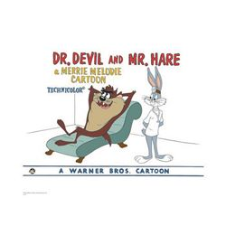 Warner Brothers Hologram Dr Devil