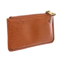 Louis Vuitton Brown Epi Leather Pochette Cles Key Pouch