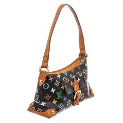 Louis Vuitton Black Multicolor Monogram Eliza Shoulder Bag