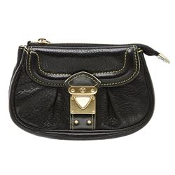 Louis Vuitton Black Suhali Leather Le Mignon Pouch Bag