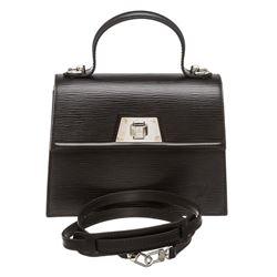 Louis Vuitton Black Epi Leather Sevigne PM Bag