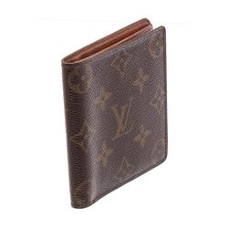 Louis Vuitton Monogram Porte-Billets 6 Cartes Credit Bifold Wallet