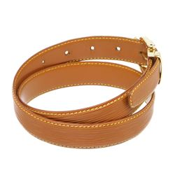 Louis Vuitton Brown Epi Leather Skinny Classique Belt 85