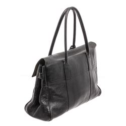 Mulberry Black Leather Medium Shoulder Bag
