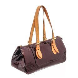 Louis Vuitton Amarante Monogram Vernis Leather Rosewood Ave Bag