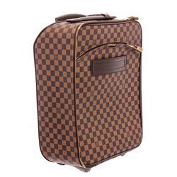Louis Vuitton Damier Ebene Canvas Leather Pegase 45 cm Luggage