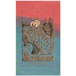 Tarot - The Empress by Steve Kaufman (1960-2010)
