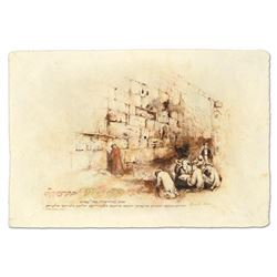 Prayer At The Kotel by Horen, Brachi