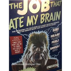 213cm THE JOB THAT ATE MY BRAIN Wooden Sign