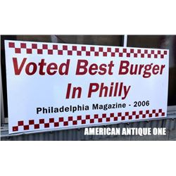 2006 118cm Philadelphia Magazine Best Burger
