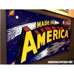 MADE AMERICA GALLERT 244cm Wooden Sign