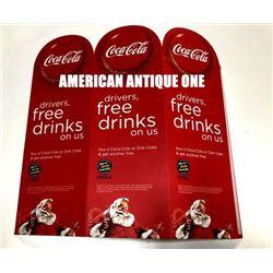 2011 31cm USA Coca-Cola / Driver Free Drink Display