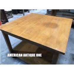 Simple Design 76cm Center Table Wooden