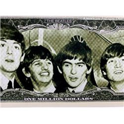 The Beatles / Ringo Starr novelty banknote