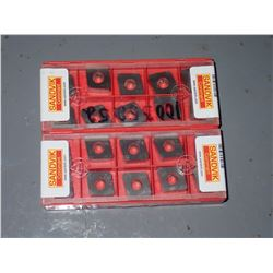 (20) Sandvik Carbide Inserts #5322-234 01