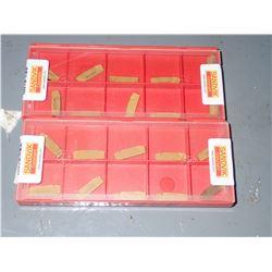 (20) Sandvik Carbide Inserts #N123G2-0318-0003-GM 4225