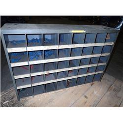 "34"" x 8-1/2"" x 23"" Steel Pigeon Hole Organizer"